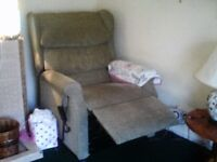 Armchair recliner-comfortable,elecrically operated