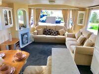 STATIC CARAVAN FOR SALE WHITLEY BAY TYNE AND WEAR NORTH EAST COAST WITH PITCH FEES PAID TILL 2019
