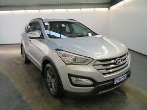 2012 Hyundai Santa Fe DM Active CRDi (4x4) Silver 6 Speed Automatic Wagon Albion Brimbank Area Preview