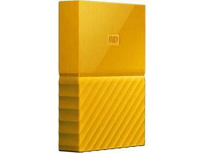 WD 4TB My Passport Portable Hard Drive USB 3.0 Model WDBYFT0040BYL-WESN Yellow