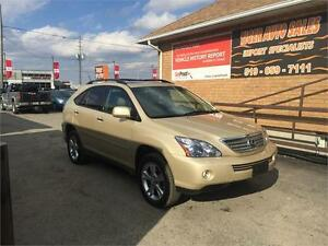 2008 Lexus RX 400h**HYBRID**LEATHER***SUNROOF***ONLY 146 KMS