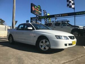 2004 Holden Crewman VY II S White 4 Speed Automatic Crew Cab Utility Islington Newcastle Area Preview
