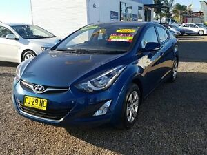 2015 Hyundai Elantra MD Series 2 (MD3) Active Blue 6 Speed Automatic Sedan Five Dock Canada Bay Area Preview