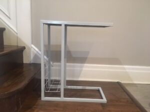 Side table with magazine holder (home sense)