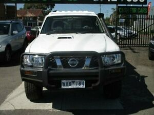 2007 Nissan Patrol GU 5 MY07 TI White 4 Speed Sports Automatic Wagon Hoppers Crossing Wyndham Area Preview