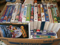 40 VHS USED TAPES IN EXCELLENT WORKING CONDITION