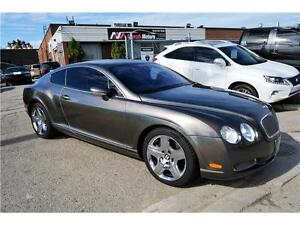 2005 Bentley Continental GT/NAVIGATION/LEATHER/WOOD TRIM