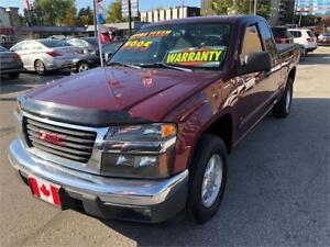 2007 GMC Canyon SLE EXTENDED CAB 5 SEATS AUTO. AIR...MINT COND.