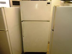McClary top freezer fridge $170
