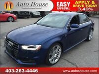 2013 Audi A4 SLINE NAVIGATION AWD 90 DAYS NO PAYMENTS
