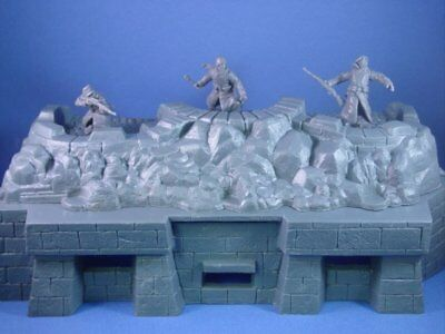 MPC WWII Fortification Bunker D-Day 1/32 Toy Soldier Plastic Army Men FREE SHIP