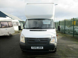 Ford Transit 2.2TDCi ( 125PS ) luton van with taillift bargain