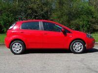 FIAT PUNTO 1.2 EASY 5d 69 BHP (red) 2013