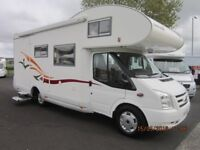2010 EURA MOBIL 4 BERTH FIXED REAR BUNK MOTORHOME WITH ONLY 12K MILES AND GARAGE ANDERSON MOTORHOMES