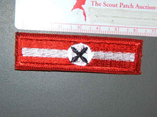 Boy Scout Explorer Rating strip - Aviation 8275R