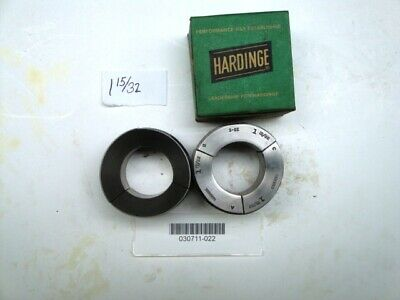 Hardinge S22 1-1532 Round Smooth Collet Pad Set New