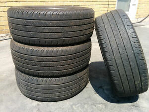 215/70R16 set of 4 Continental Used(inst.bal.incl)70% tread left