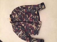 Spada camo large jacket