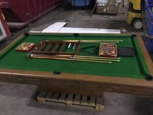 Table de Snooker Billiard - Pool Table Complete with Cues & Balls
