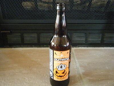 Pumking Southern Tier Brown Glass Bottle 22oz Halloween Decoration Mancave 2012](Halloween Pumking)