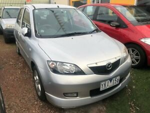 2003 Mazda 2 DY Genki Silver 4 Speed Automatic Hatchback Hoppers Crossing Wyndham Area Preview