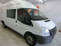 Ford Transit 2.4TDCi Duratorq ( 100PS ) 350L High Roof Double Cab 350 LWB