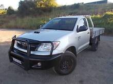 2007 TOYOTA HILUX TURBO DIESEL 4X4 UTE TRAYBACK SINGLE CAB East Lismore Lismore Area Preview