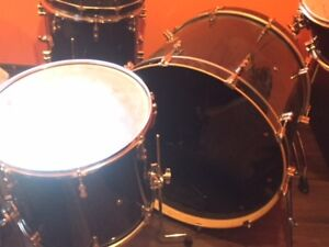 Pacific Drums 5 Piece Kit w Black Panther Snare