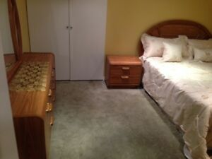 Furnished Bedroom in a Executive Home Basement-UTM-403-Erinmills