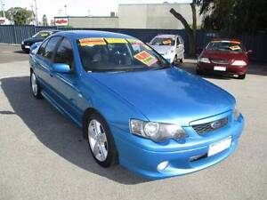2004 Ford XR6 Turbo  Sedan (1ETF865-A4773) Mandurah Mandurah Area Preview