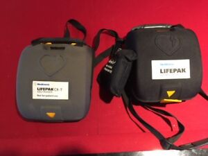 Lifepaq CR+ AED with trainer