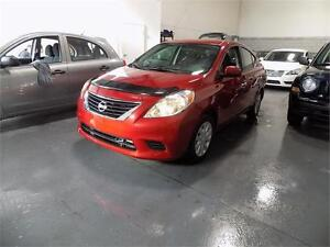 2014 Nissan Versa SV  ***JAMAIS ACCIDENTÉ***CARPROOF INCLUT***