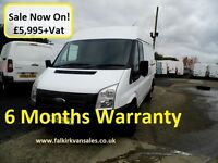 Ford Transit 2.2 TDCi 280 Medium Roof SWB Van 3dr
