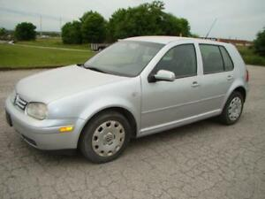 2007 VOLKSWAGEN GOLF -AUTO * 143 K ON NEW ENGINE
