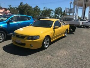 2005 Ford Falcon BA Mk II XR6 Ute Super Cab Yellow 4 Speed Sports Automatic Utility Winnellie Darwin City Preview