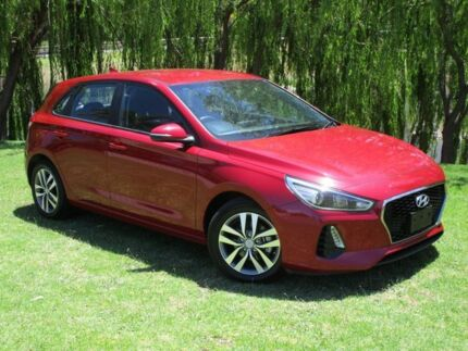 2017 Hyundai i30 PD MY18 Active Red 6 Speed Sports Automatic Hatchback Reynella Morphett Vale Area Preview
