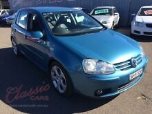 2006 Volkswagen Golf 1K 2.0 FSI Comfortline Blue 6 Speed Tiptronic Hatchback Lansvale Liverpool Area Preview