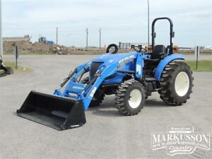 NH Boomer 45 Compact Tractor - Loader, PTO, 3pt - 6 Yr Warranty