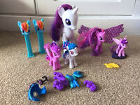 My Little Pony toys and Puzzle (Rarity,Twilight Sparkle ), Disney Princess Little Mermaid Ariel doll