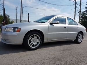 2008 Volvo S60 2.5, TURBO, LEATHER SEATS, SUNROOF, 130 KMS