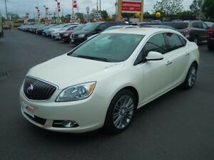 2013 BUICK VERANO LEATHER PACKAGE- REAR VIEW CAMERA, NAVIGATION