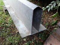 4.8 m Galvanized Steel Cavity Lintel - Recycled in Good Condition