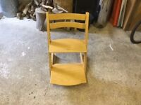 Stokke trip trap chairs x2