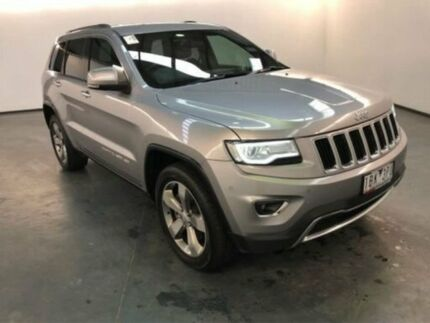 2013 Jeep Grand Cherokee WK MY14 Limited (4x4) Silver 8 Speed Automatic Wagon