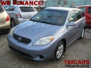 2005 Toyota Matrix XR Hatchback-YES WE DO TRADES! Edmonton Edmonton Area image 1