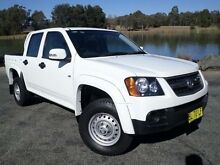 2011 Holden Colorado RC MY11 LX (4x2) White 4 Speed Automatic Crewcab Belconnen Belconnen Area Preview