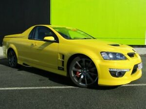 2011 Holden Special Vehicles Maloo V3 MY12 R8 (Dual Fuel) Yellow 6 Speed Manual Utility Underwood Logan Area Preview