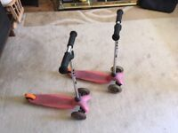 Mini Micro Scooters - Pink