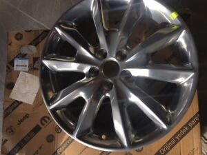 Jeep Cherokee Ltd. Alloy Rims (Chrome Finish)