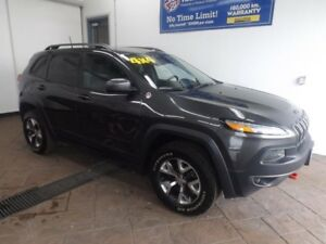2017 Jeep Cherokee Trailhawk 4X4 LEATHER